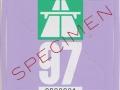 Specimen 1997