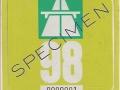 Specimen 1998