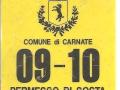 Carnate 2009-10