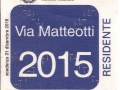 Via Matteotti 2015
