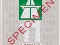 Specimen 2011 S0000045V