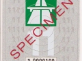 Specimen 2011 S0000100V